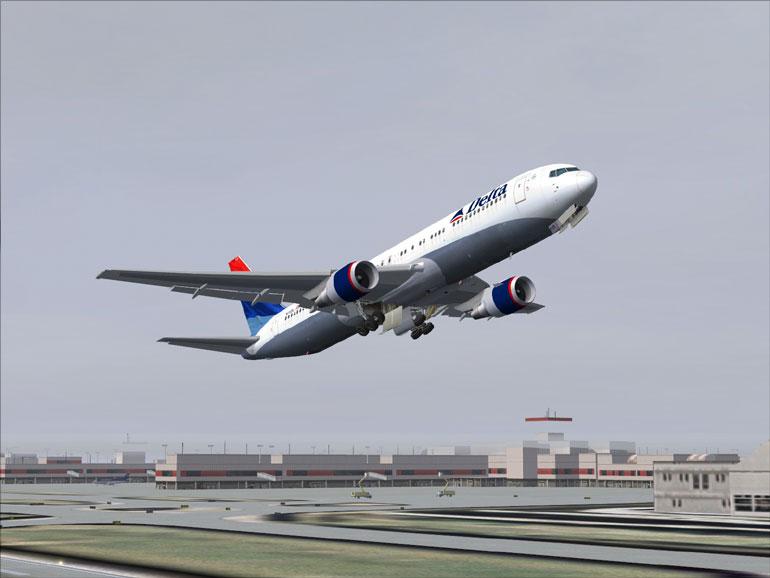 Payware Reviews: Flight1 Software - Level-D 767-300ER
